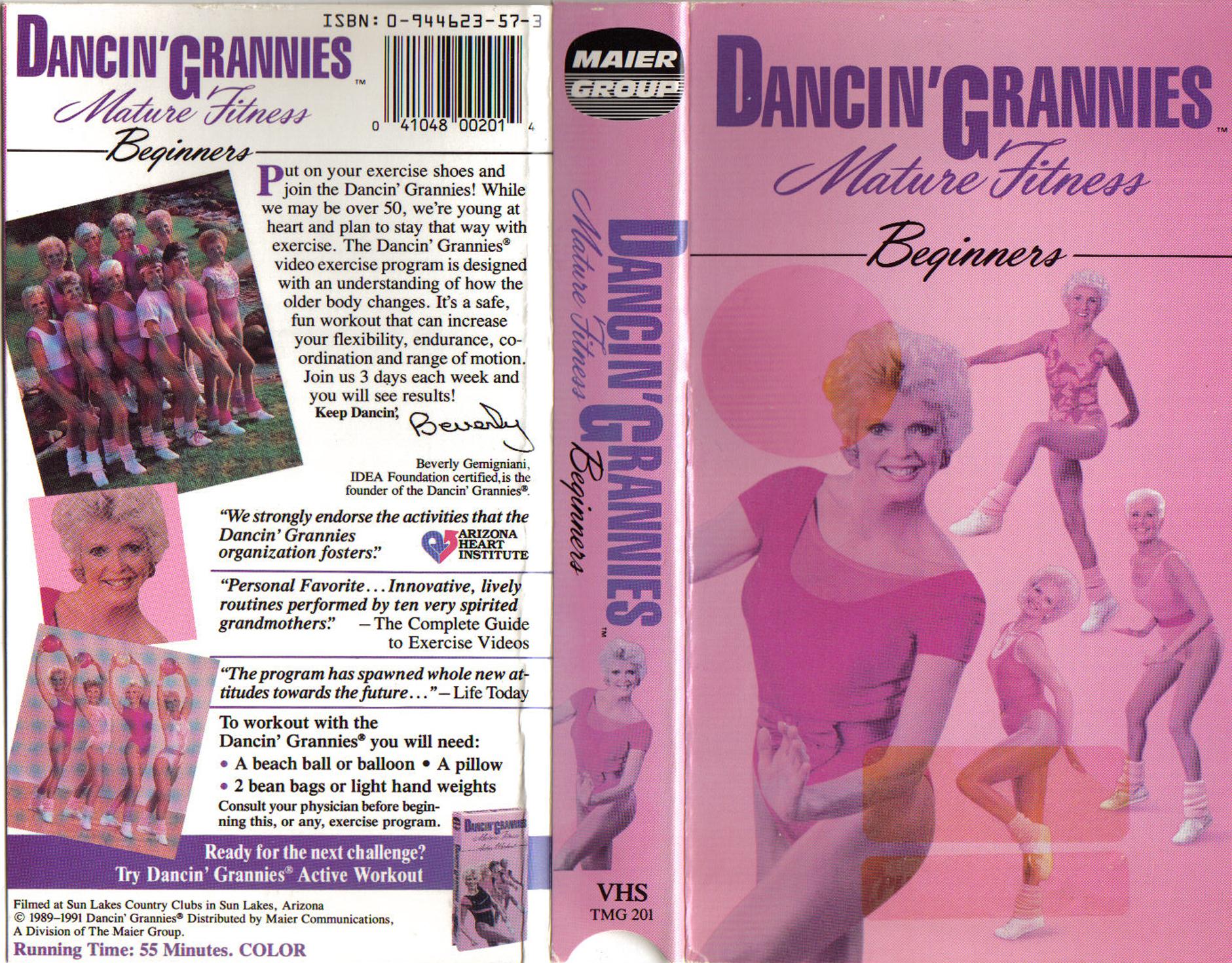 DANCIN' GRANNIES : MATURE FITNESS BEGINNERS ...