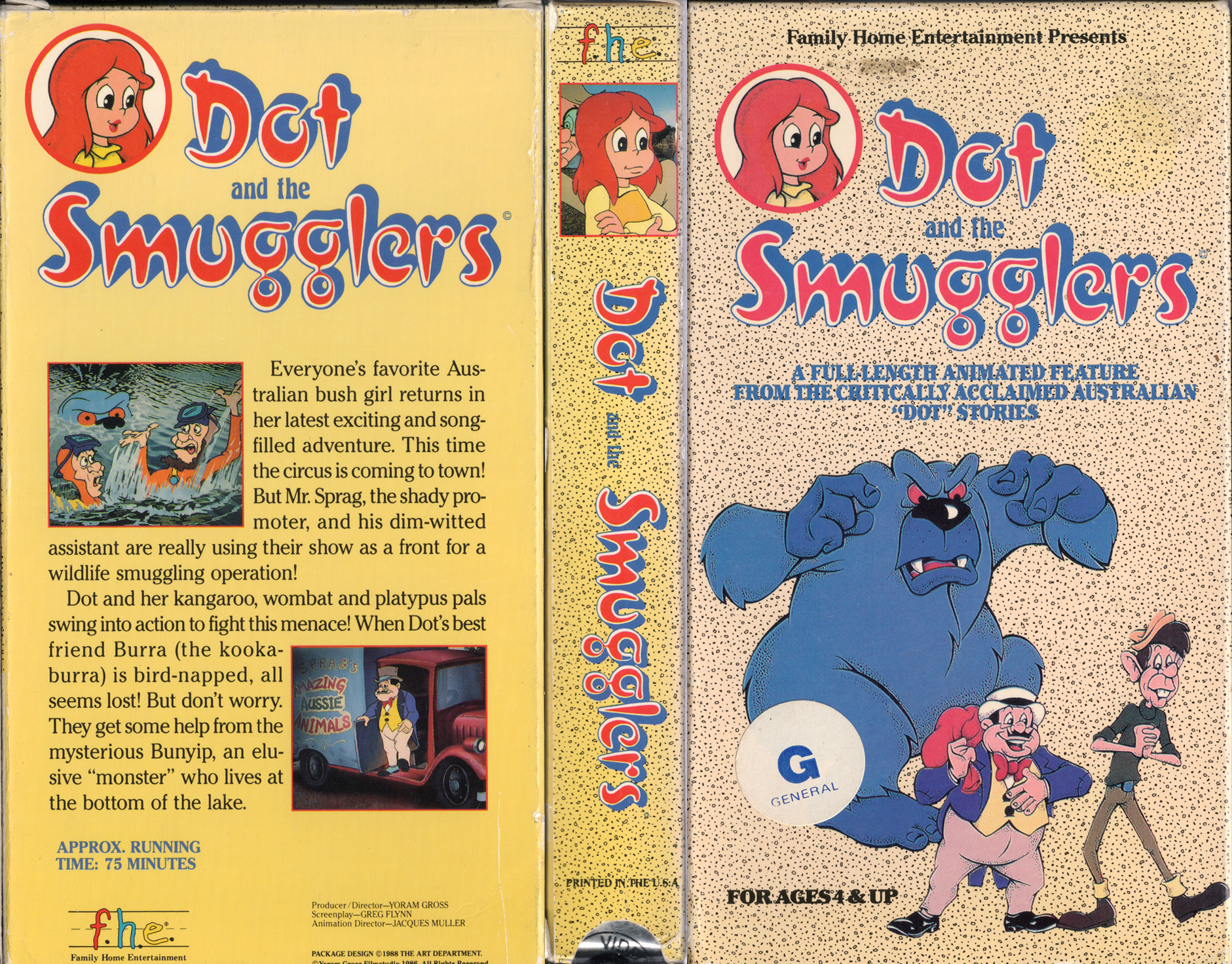 Dot and the Smugglers movie