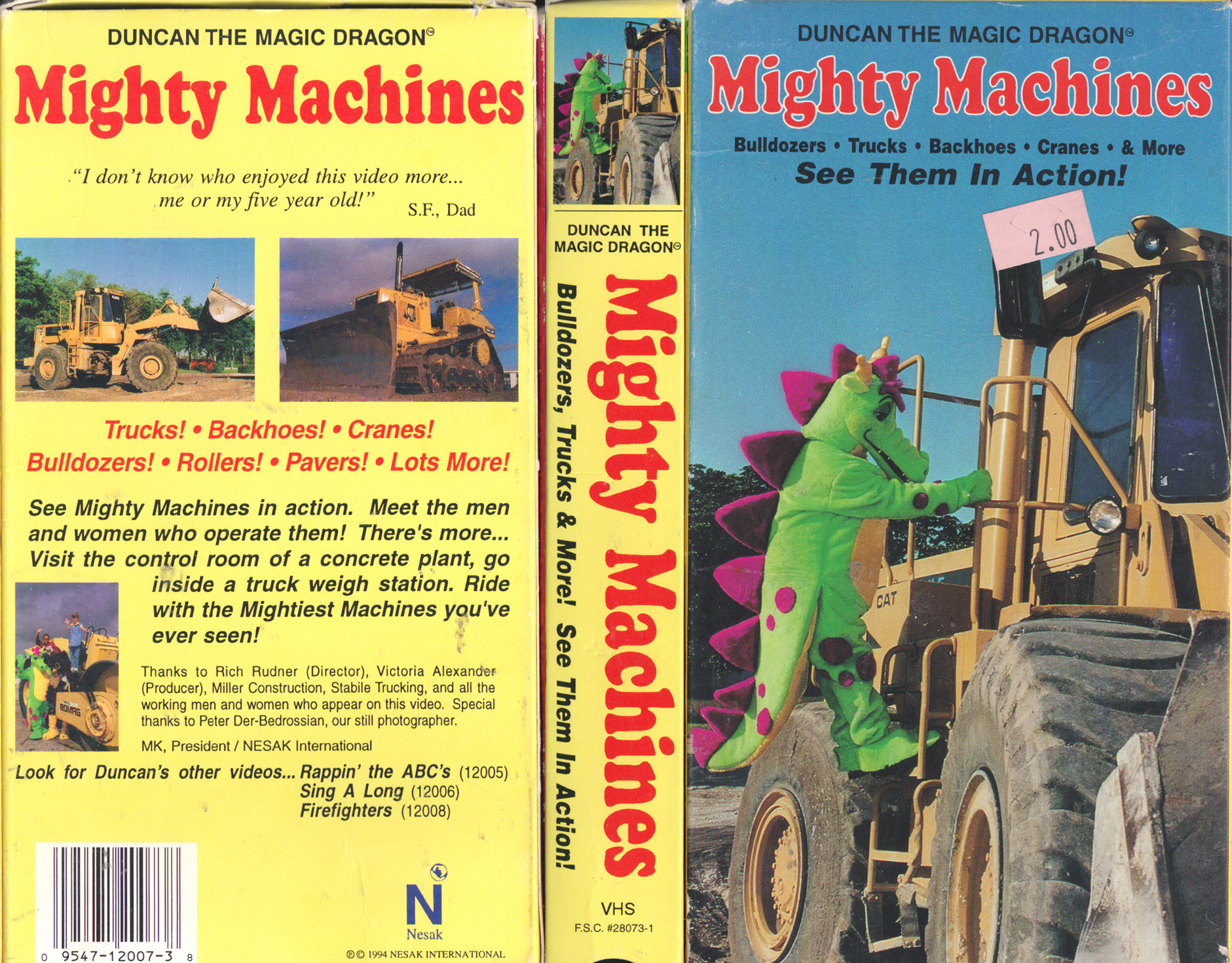 dvd vhs machine