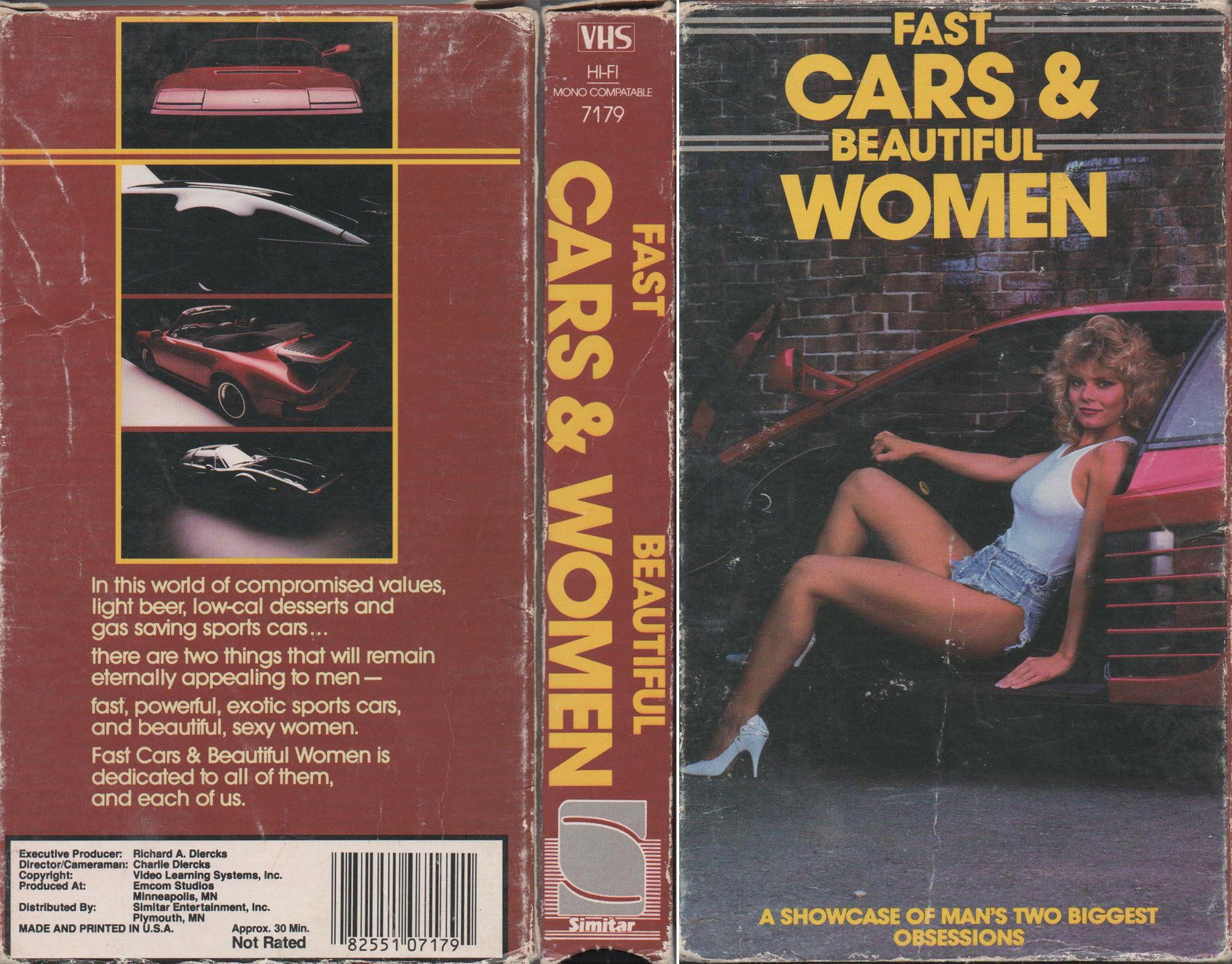 VHS WASTELAND YOUR HOME FOR HIGH RESOLUTION SCANS OF RARE - Beautiful fast cars