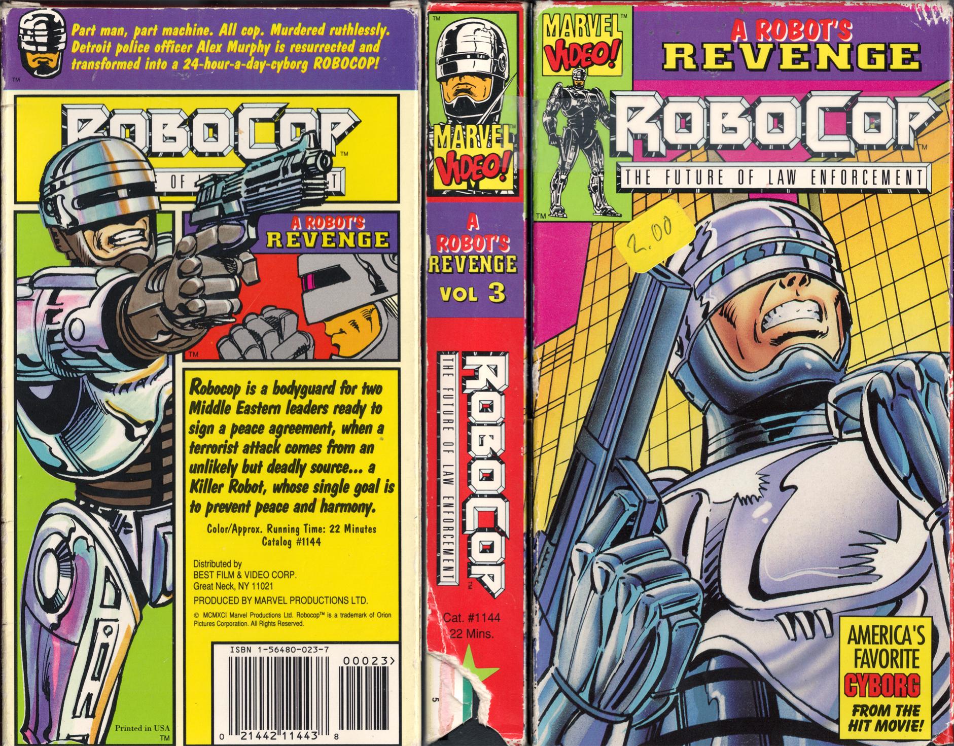 robots revenge