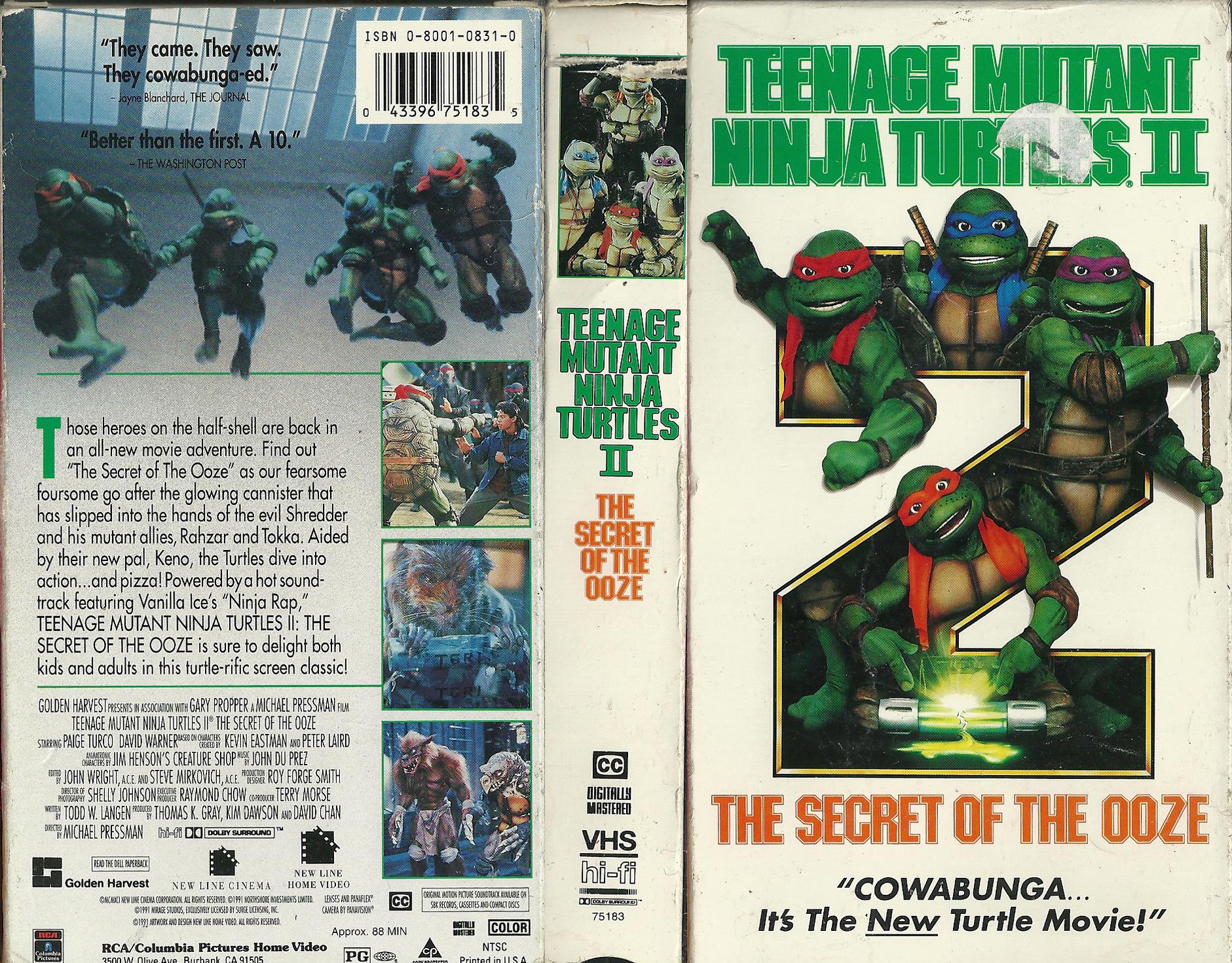 Teenage mutant ninja turtles secret of the ooze snapping turtle