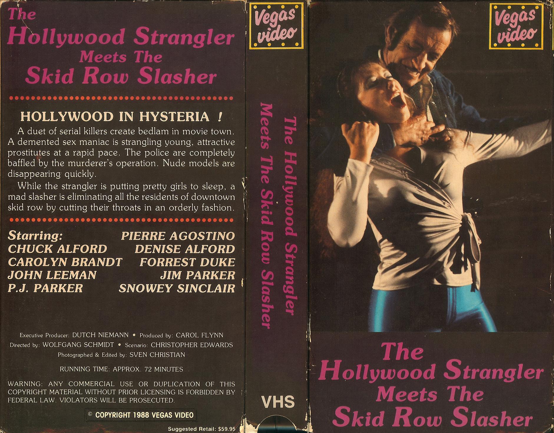 The Hollywood Strangler Meets the Skid Row Slasher movie