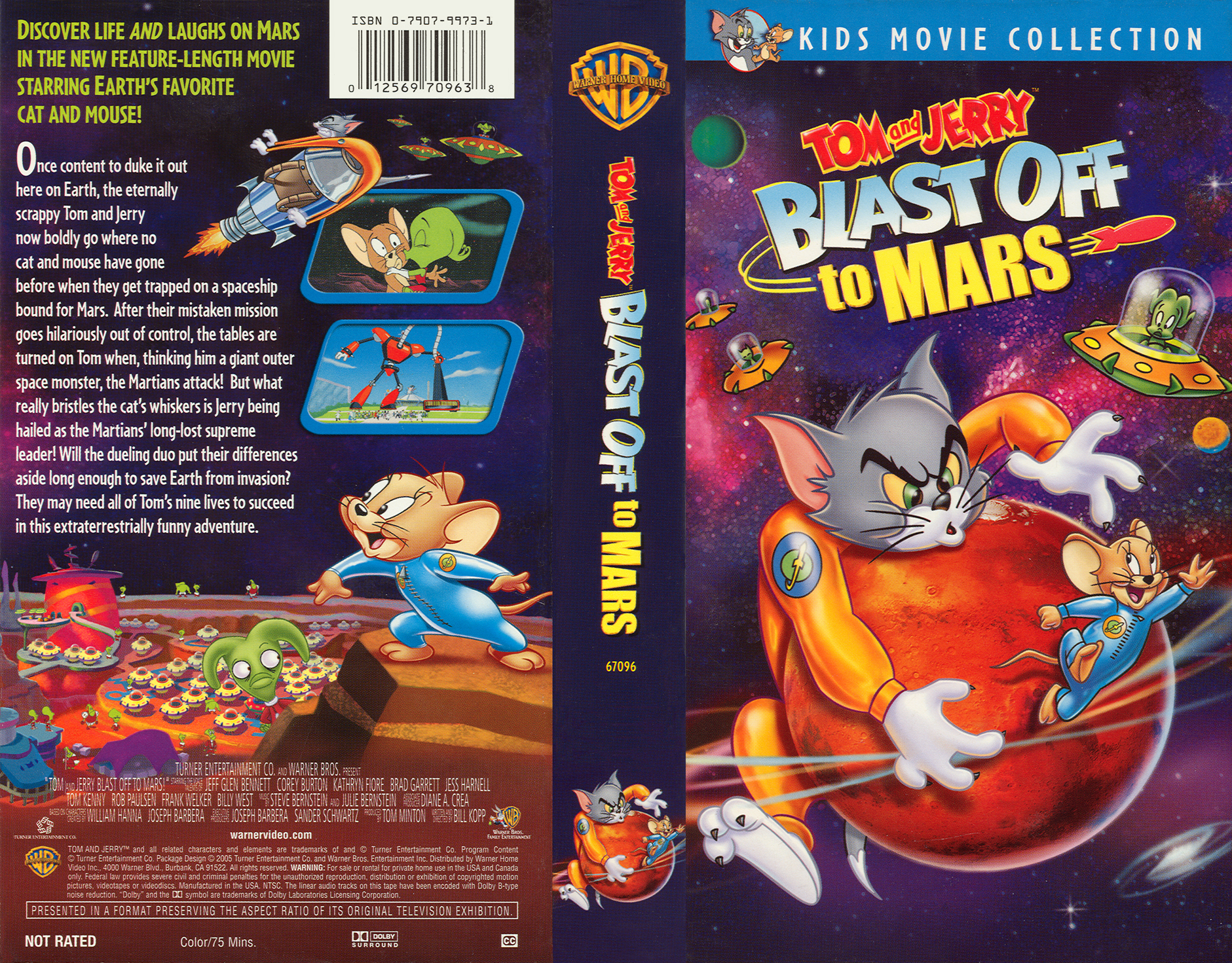 Tom And Jerry Blast Off To Mars Poster | www.galleryhip ...