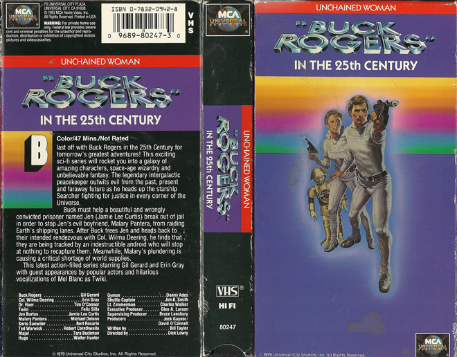 Buck Rogers: Unchained Woman movie