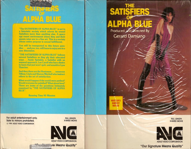 The satisfiers of alpha blue