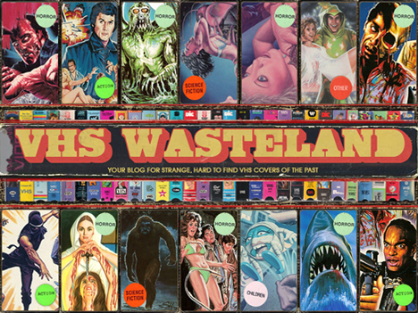 VHS WASTELAND - HIGH RES SCANS OF RARE VHS COVERS