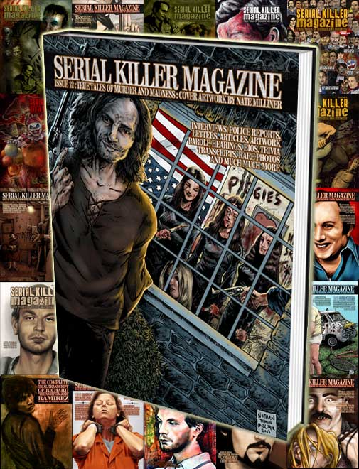 ALL 26 ISSUES OF SERIAL KILLER MAGAZINE