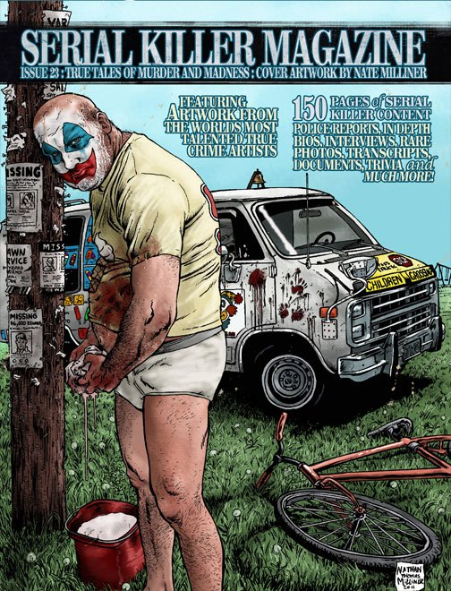 SERIAL KILLER MAGAZINE ISSUE 23
