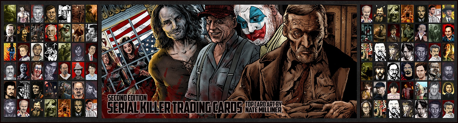 THE SERIAL KILLER TRADING CARDS